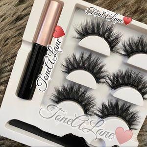 Magnetic Eyelashes Mink Lashes 3d Eyelashes Kit